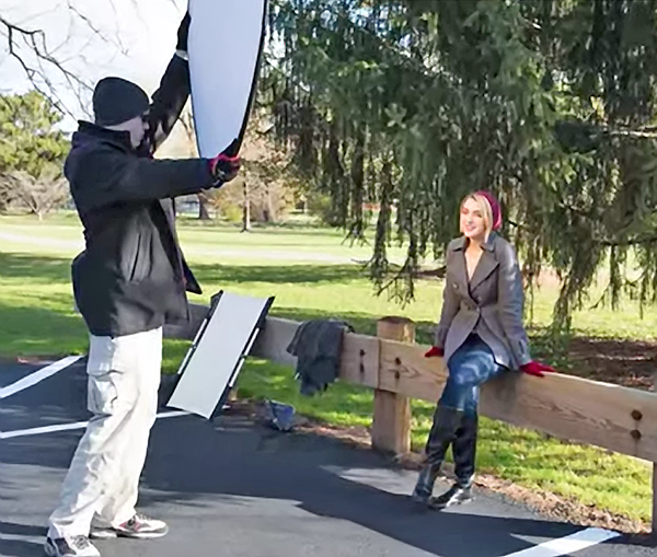 And In The Video Below Hes A Bit Perturbed Because Photographers Often Mess Up Outdoor Portraits By Not Using Their Reflectors Properly