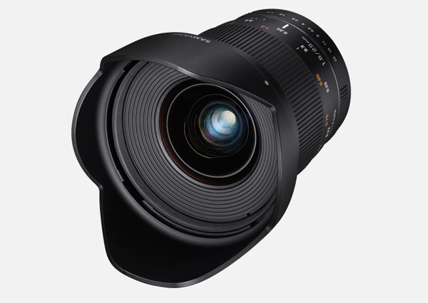 Samyang Unveils a Fast 20mm F/1.8 Manual-Focus Ultra-Wide Lens for ...