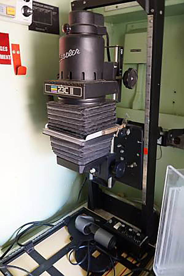 Looking For a Military Spec Portable Darkroom? It's for Sale on