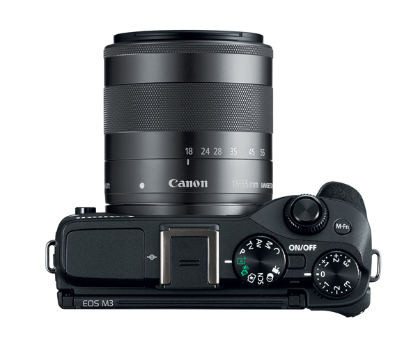 Canon EOS M3 Mirrorless Camera Coming to U S  in October | Shutterbug