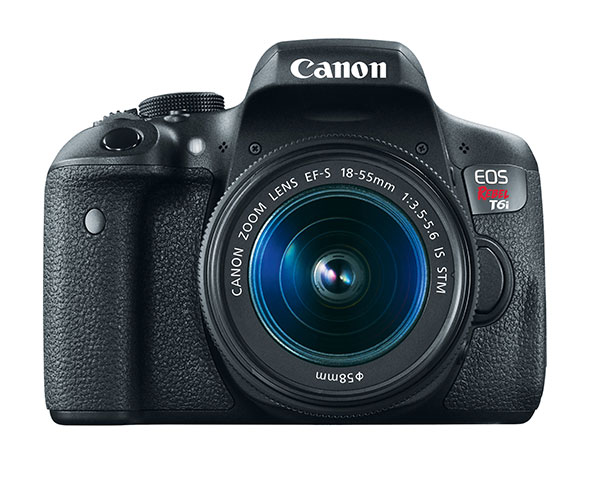 Canon Unveils 24 2MP EOS Rebel T6s and T6i DSLR Cameras with