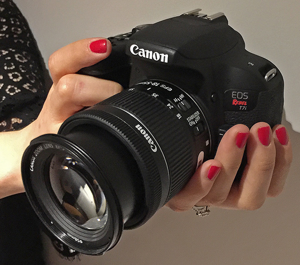 Canon Announces New EOS 77D and EOS Rebel T7i DSLR Cameras (Hands-On