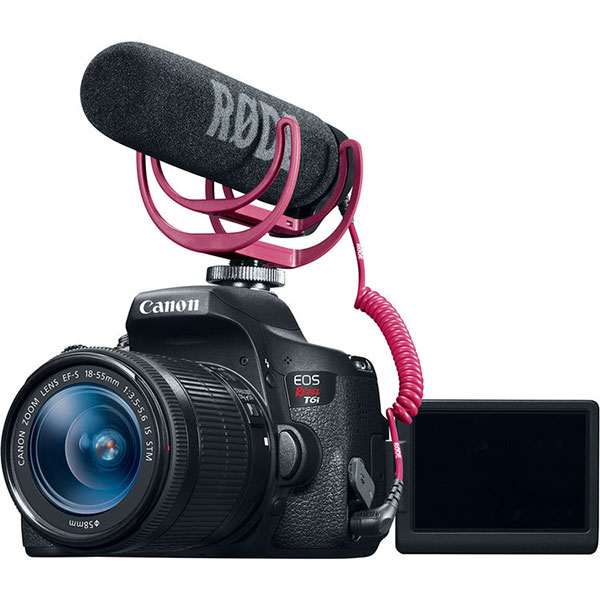 Canon Intros DSLR Filmmaker's Kit with Rebel T6i and Rode