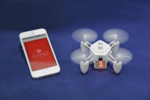 A Smartphone Or Tablet Can Be Used To Direct The Zano Set Intelligent Nano Drone Automatically Follow User And Capture Photos Video From