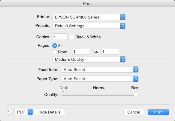 Youll Want To Go Back Into System Preferences Printers Scanners And Add A Second Driver This Will Give You The Options Needed For Photo Printing