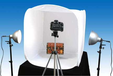 With a suggested retail price of $299.95 the oversized model features an easy to set up table-top design. The soft light box utilizes a specially woven ... & A.R.T. Unveils Photo Studio In A Boxu2014Supersized!   Shutterbug azcodes.com