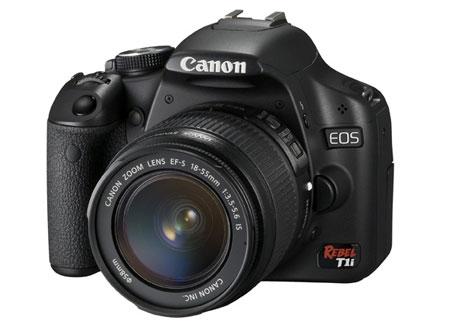 Canon EOS Rebel T1i Digital SLR Camera With HD Video ...