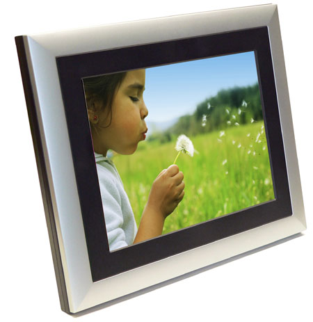 Digital Picture Frame Can Access And Share Photos, Music And Video ...