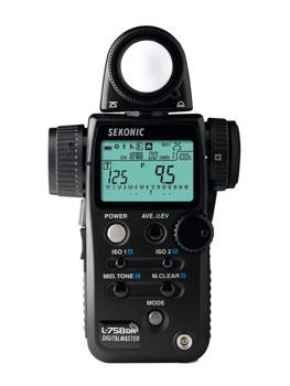 Sekonic Light Meter: L-758DR-U DigitalMaster Exposure ...