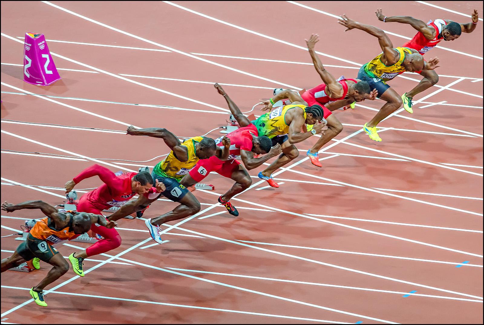 Olympic 100m Mens Final | Shutterbug