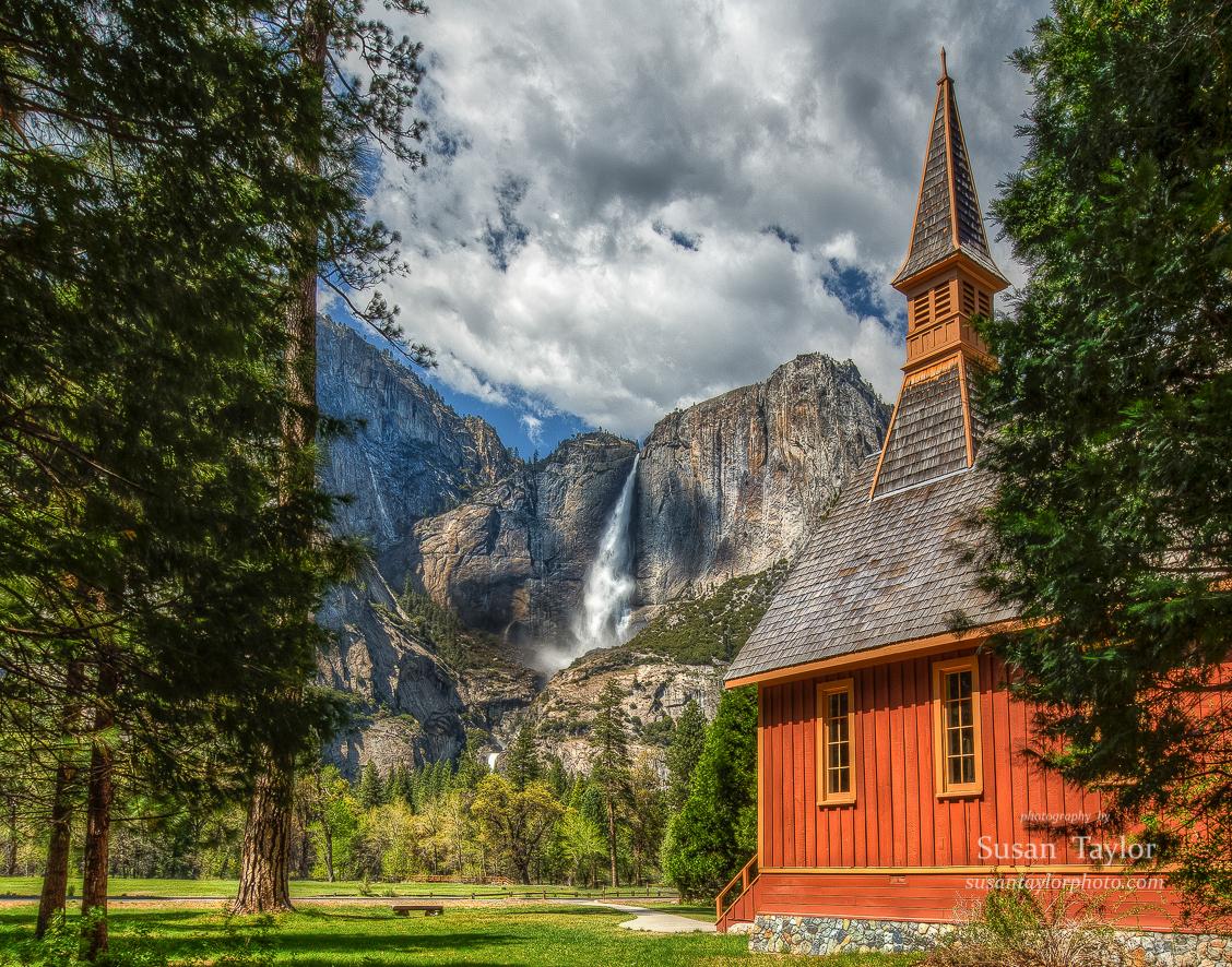 Yosemite Valley Chapel Shutterbug