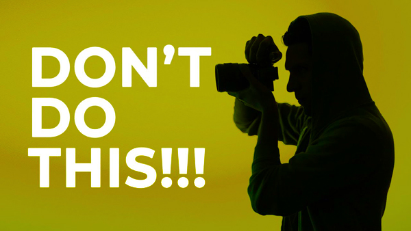 DON'T Let These Bad Habits SPOIL Your Photos (VIDEO) - OverStockPhoto