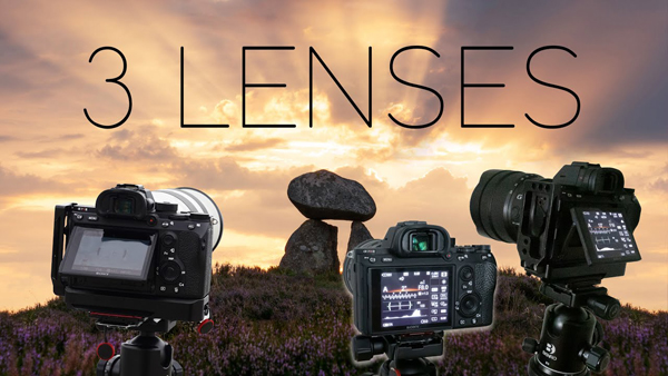 How Many Lenses do You REALLY Need to Shoot Epic Landscape Photographs? (VIDEO)