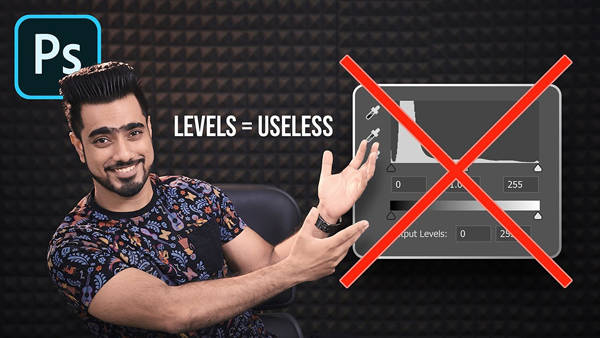 PHOTOSHOP ALERT: Don't Use the USELESS Levels Tool (VIDEO)