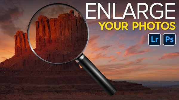 Easily Enlarge Photos in Photoshop & Lightroom: No Plugins Required! (VIDEO)