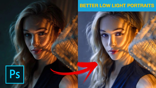 Take Your Low Light Portraits to the Next Level with These Easy Photoshop Tips (VIDEO)