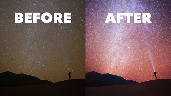 Photoshop's 5 BEST Basic Tools for Editing Images of Starlit Skies (VIDEO)