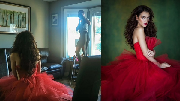 Shoot Beautiful Hand-Held Portraits at Home with This Simple Window Light Setup (VIDEO)