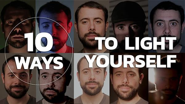10 Easy Lighting Set-ups that Create 10 Different Looks for Portrait Photography (VIDEO)