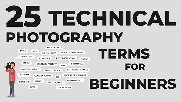 This Video Explains 25 Important Photography Terms That Every Beginner Should Know