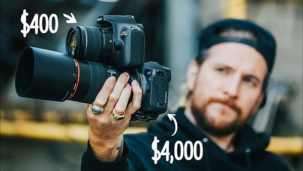 Can a Pro Photographer Tell the Difference Between a $400 Camera vs a $4,000 Camera? Can You? (VIDEO)