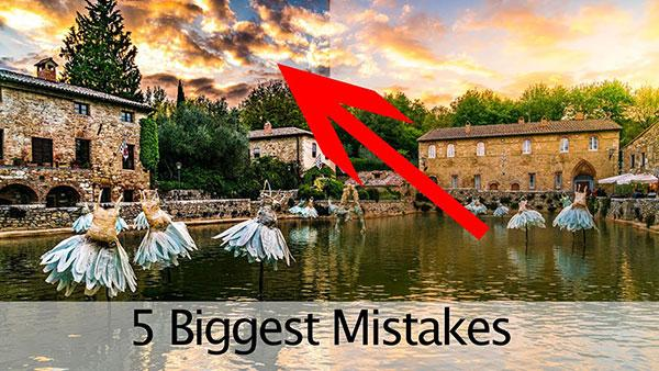 These Are the 5 Biggest Mistakes Photographers Make in Lightroom