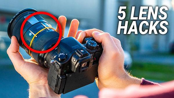 Here Are 5 Camera Lens Hacks in Under 4 Minutes (VIDEO)