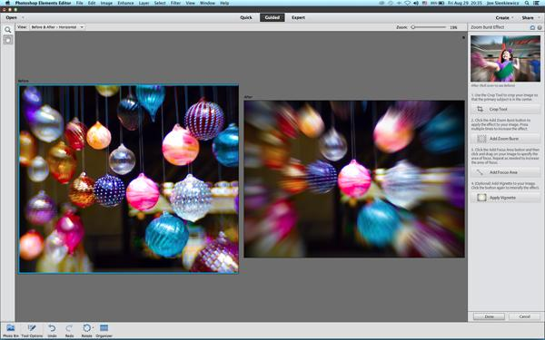 Easy photoshop elements 12 tip how to add zoom effect to existing last month readers enjoyed our easy photo tip that explained how to zoom during exposure to create an exciting special effect but a few readers had trouble ccuart Image collections