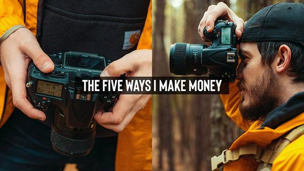 5 Ways to Make Money with Your Photography: Evan Ranft Shares His Tips