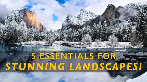 5 Essential Items You Need for Landscape Photography, According to Top Pro Cheyne Walls (VIDEO)