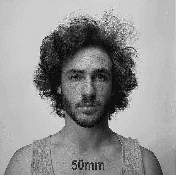Check Out This Cool Gif Showing How Lens Focal Length Changes People's Faces in Portraits