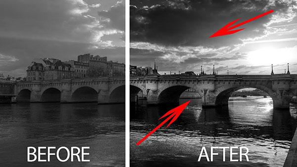 Here's How to Give Your Photos a Dramatic B&W Ansel Adams Look in Just a Few Clicks (VIDEO)