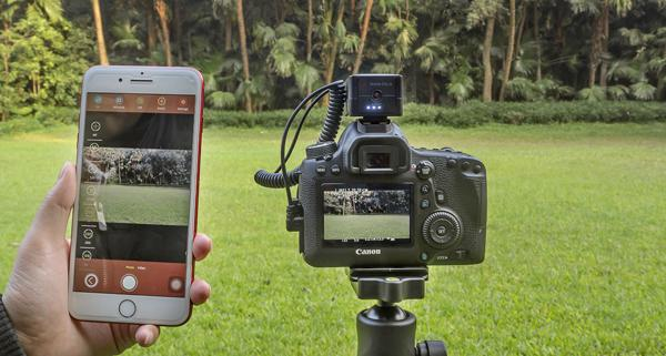 """Aurga Is a """"Smart Digital Assistant"""" That Lets You Control a DSLR Camera with Your Smartphone"""