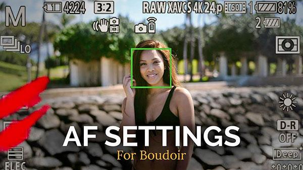These Are the Best Autofocus (AF) Settings for Portrait & Boudoir Photography, According to Michael Sasser