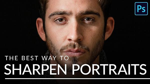 Here's the Best Way to Sharpen Portraits in Photoshop, According to Tutorial Resource Phlearn