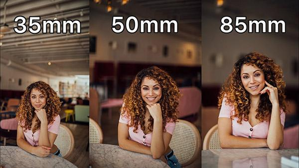 Watch How the 35mm vs 50mm vs 85mm Lenses Compare for Portrait Photography (VIDEO)