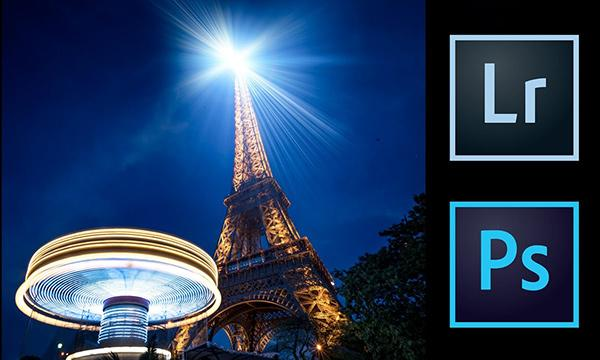 Watch Serge Ramelli Use Photoshop to Turn a Boring Scene of the Eiffel Tower into a Masterpiece (VIDEO)