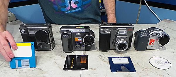 Remember When Digital Cameras Used Floppy Disks? This Video Shows How They Stand Up Today