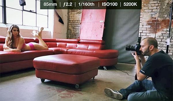 Erotic photography video