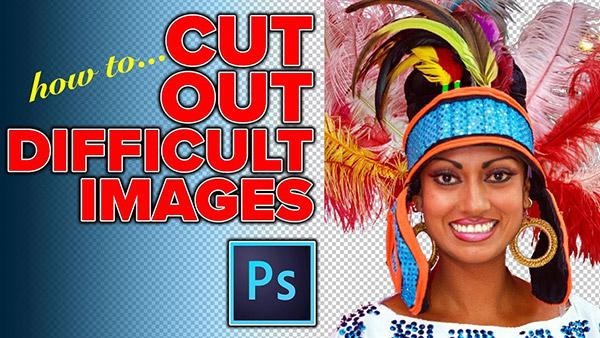 Here's How to CUT OUT Difficult Images in Photoshop (VIDEO)