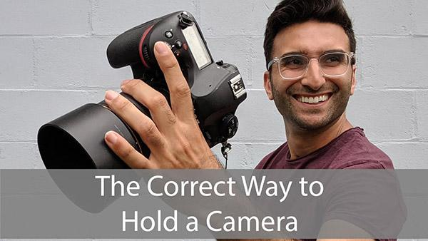 Is This the Best Way to Hold a Camera? One Photographer Shares His Unique Handgrip Hack