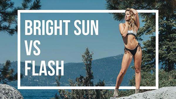 How to Shoot Outdoor Portraits that Pop Using Flash to Overpower the Sun (VIDEO)