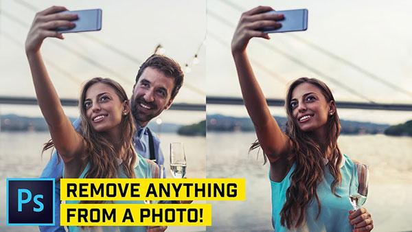 How to Remove Anything from Any Photo in Photoshop (Video Tutorial)