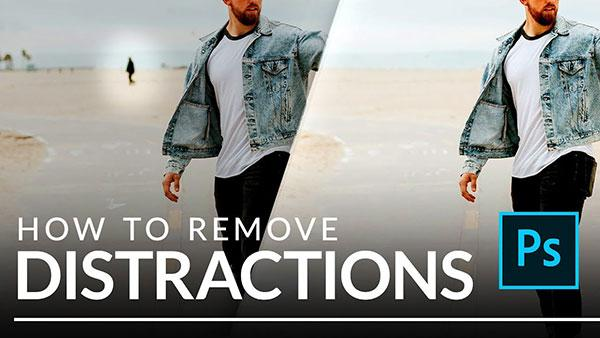 How to Quickly Remove Distracting Objects and People in Photoshop (VIDEO)