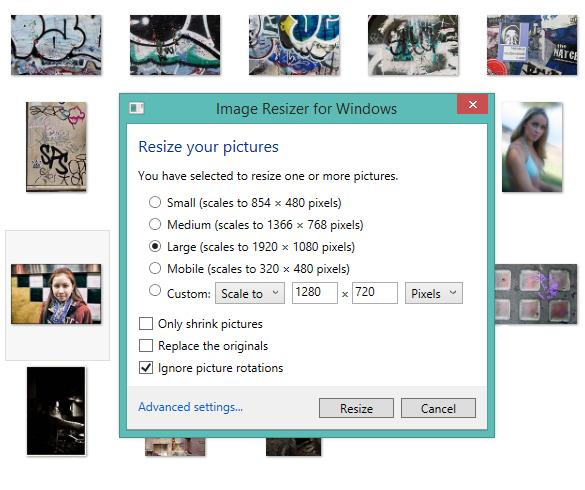Easy Photo Tip: Right-Click to Quickly Resize Batches of