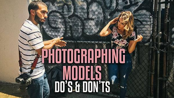 Portrait Tips: Learn the 5 Do's and Don'ts of Photographing Models (VIDEO)