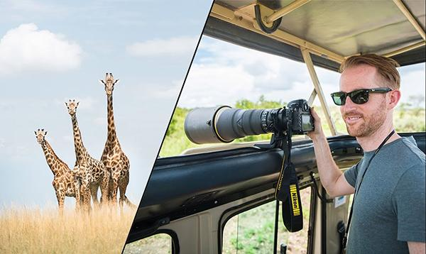 Check Out These Tips on How to Capture Killer Images on a Safari from a Nikon Pro (VIDEO)