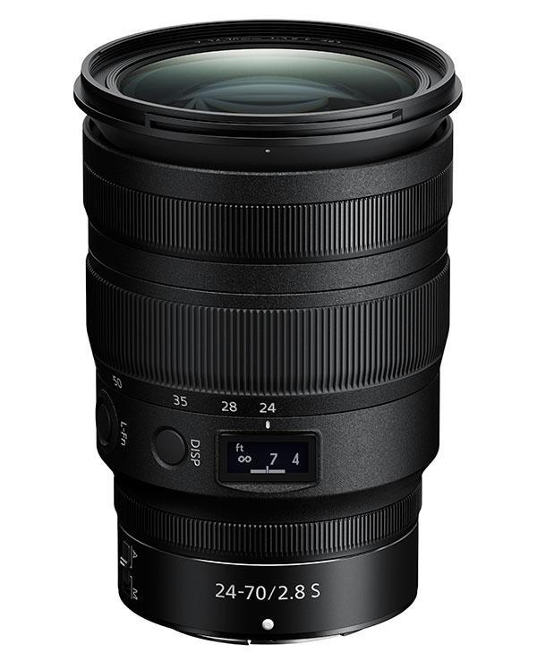 Nikon Intros Nikkor Z 24-70MM f/2.8 S lens for Z Series Full Frame Mirrorless Cameras
