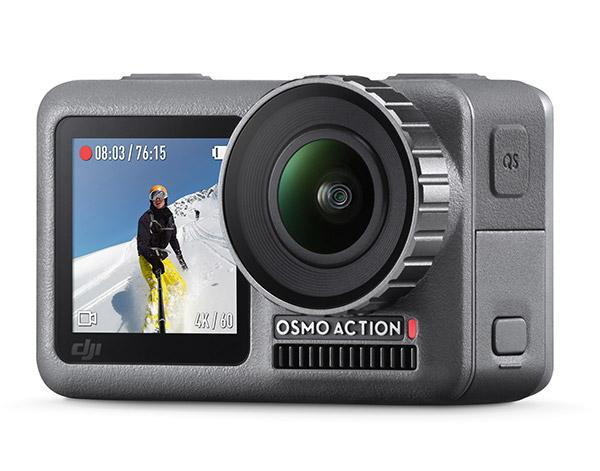 DJI Launches 4K-Shooting Osmo Action Camera to Compete with GoPro
