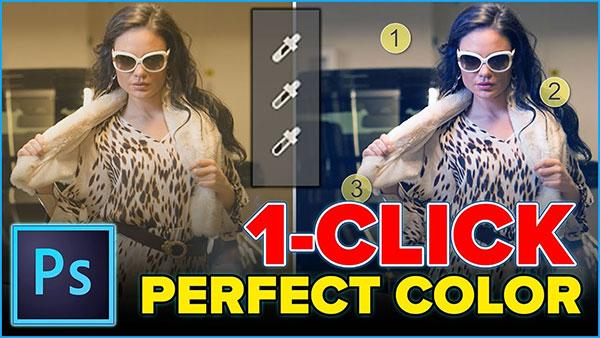 How to Get Perfect Color in Photoshop With Just One Click (VIDEO)